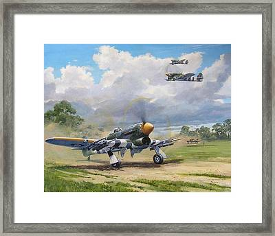 'armed And Dangerous - Typhoon' Framed Print