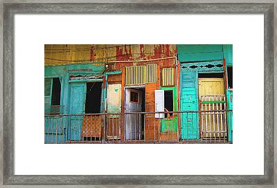 Armed. Panama City Framed Print by Fran Hogan