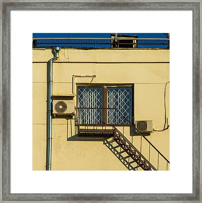 Armed To The Roof Framed Print by Alexander Senin
