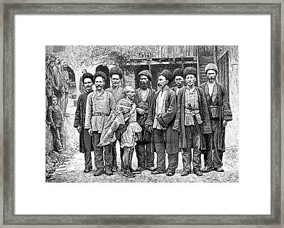 Armenian Miners Framed Print by Collection Abecasis