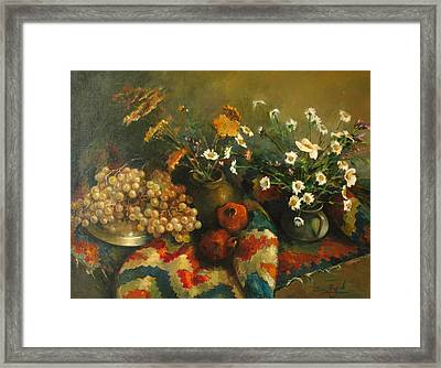 Armenian Still-life Framed Print