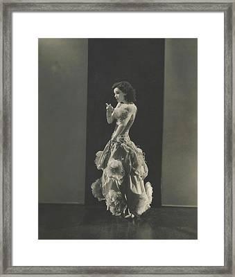 Armida In Nina Rosa Framed Print