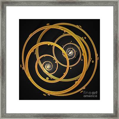 Armillary By Jammer Framed Print by First Star Art