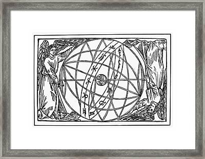 Armillary Sphere, 1509 Framed Print