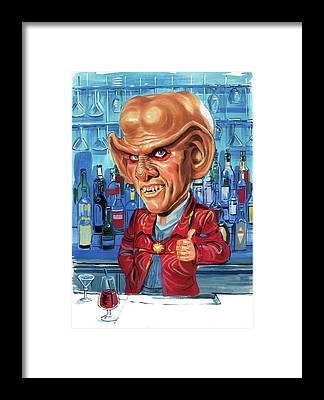 Armin Shimerman Framed Prints