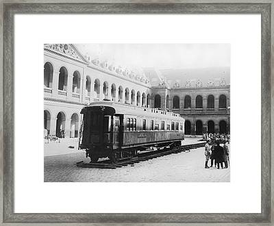 Armistice Signing Railroad Car Framed Print