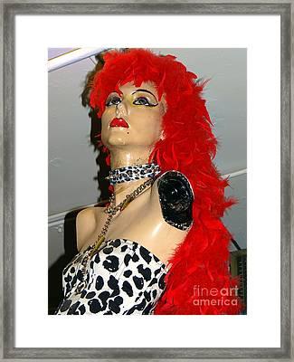 Armless Redhead Framed Print by Ed Weidman