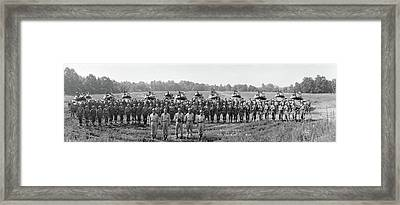 Armored Cavalry Troop G Fort Meade Md Framed Print