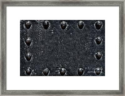 Armored  Framed Print