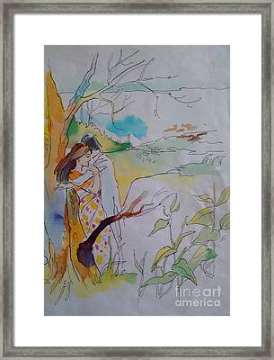Arms Framed Print by Chintaman Rudra