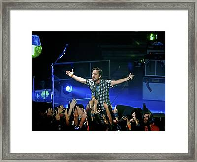Arms Wide Open Framed Print by David Powell
