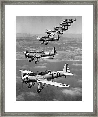 Army Air Corp Planes Framed Print