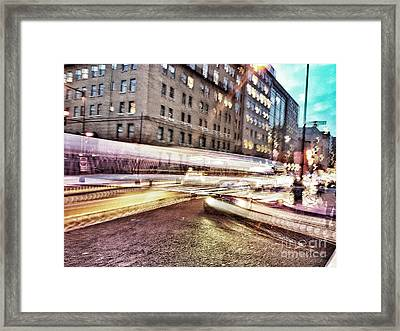Army And Navy Rush Hour Framed Print by Jim Moore