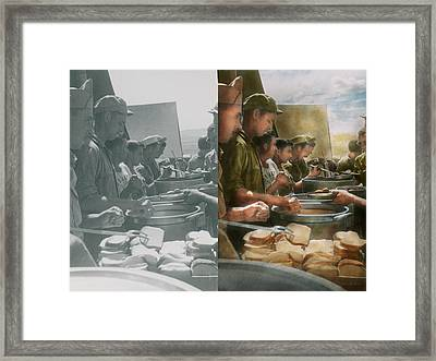 Army - Another Potato Please - Side By Side Framed Print