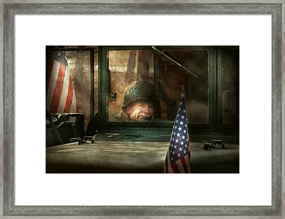 Army - Semper Fi Framed Print by Mike Savad