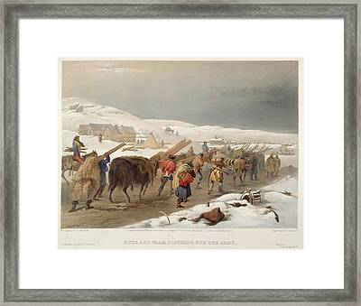 Army Supplies Framed Print by British Library