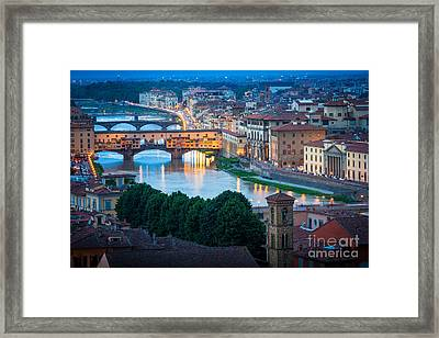 Arno Framed Print by Inge Johnsson