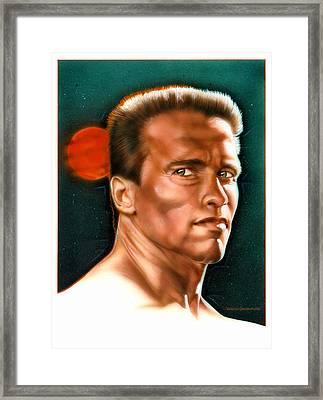 Arnold Framed Print by Tim  Scoggins