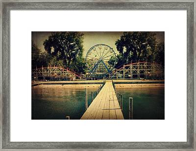Arnolds Park Framed Print