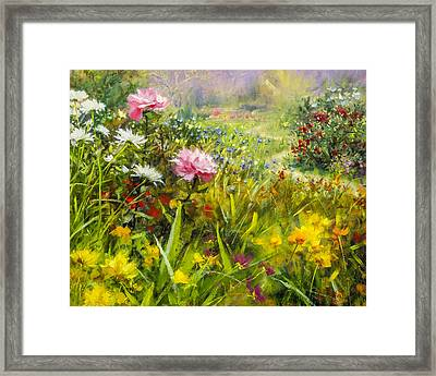 Aroma Therapy Framed Print by Bill Inman