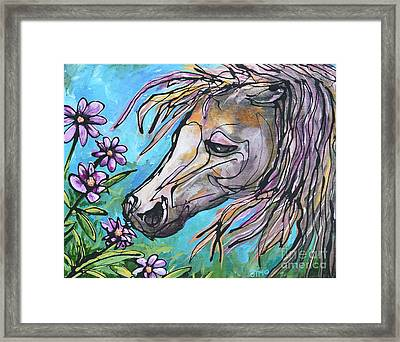 Aromatherapy Framed Print by Jonelle T McCoy