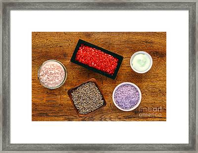 Aromatherapy Selection Framed Print by Olivier Le Queinec