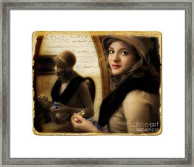 Aromatique Framed Print