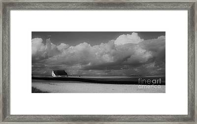 Aroostook Wheat Field Framed Print by Christopher Mace
