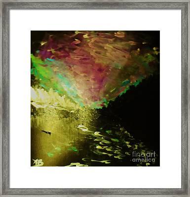 Arora Borealis Framed Print by Marie Bulger