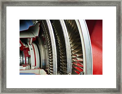 Around And Around Framed Print