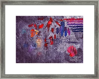 Around Indigo Framed Print by Stelios Kleanthous