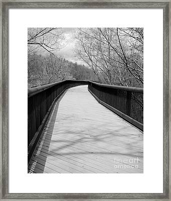 Framed Print featuring the photograph Around The Bend by Kristen Fox