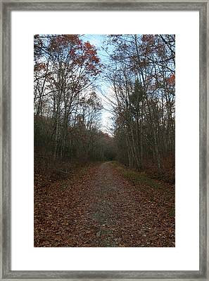 Around The Bend Framed Print by Neal Eslinger
