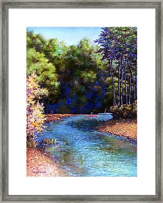 Around The Bend Framed Print by Tanja Ware