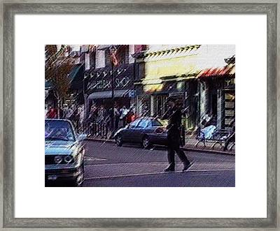 Around The Time Building 7 Went Down Framed Print by Kosior