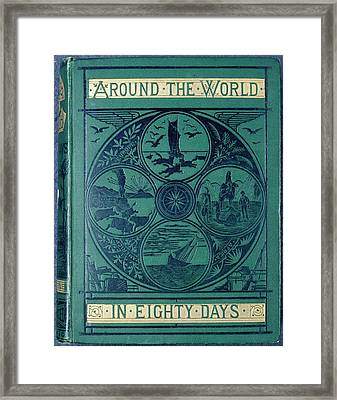 Around The World In Eighty Days Framed Print by British Library