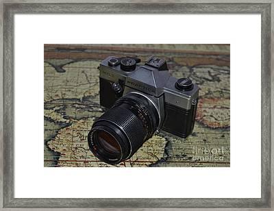 Around The World Framed Print by Sonya Staneva