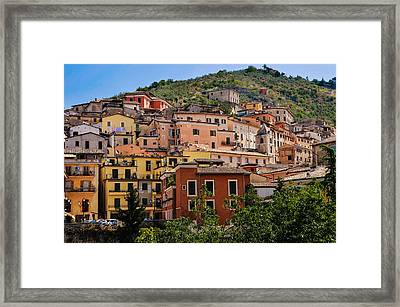 Arpino City Framed Print