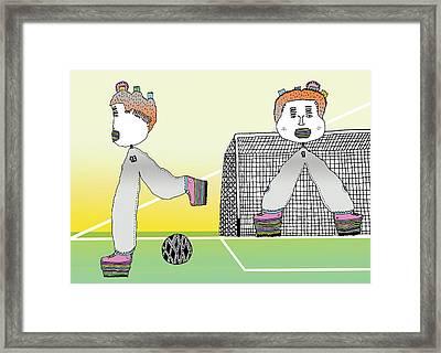 Arquero Framed Print by Lino Divas