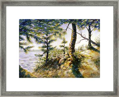 Arrival And Departure Framed Print