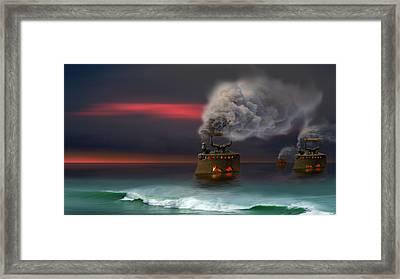 Arrival Framed Print by Igor Zenin