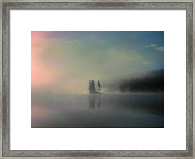 Arrival Of Dawn Framed Print by Shirley Sirois