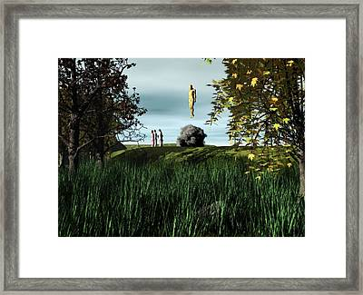 Framed Print featuring the digital art Arrival Of The Deceiver by John Alexander
