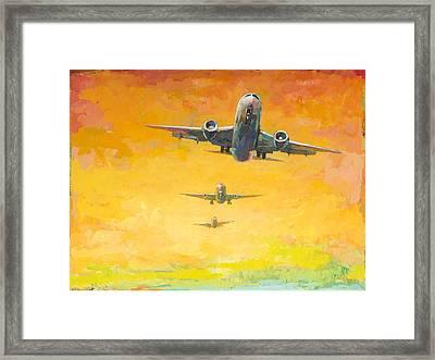 Arrivals #4 Framed Print