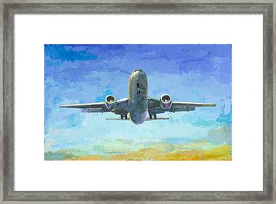 Arrivals #5 Framed Print by David Palmer