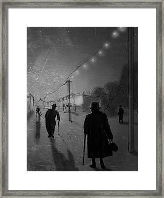 Arrivals Framed Print by H James Hoff