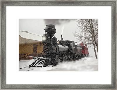 Arriving Framed Print by Ken Smith