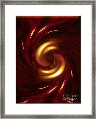 Arrogance - Abstract Art By Giada Rossi Framed Print