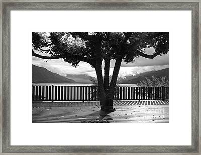 Arrow Lake Framed Print