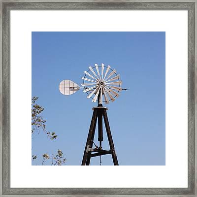 Arrow Windmill Framed Print